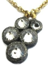 TAP by Todd Pownell Bezel Necklace with 5 Diamonds