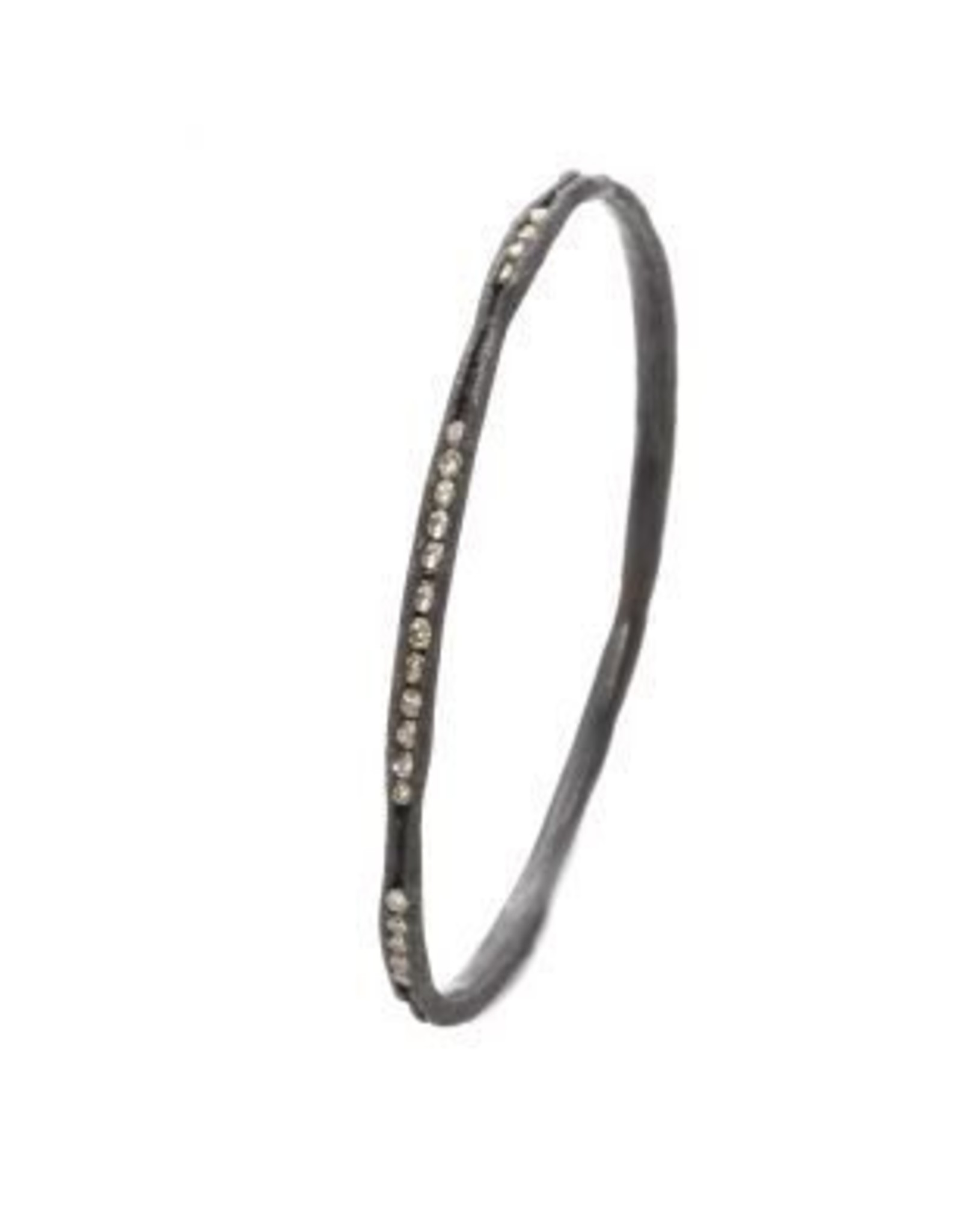 TAP by Todd Pownell Irregular Channel Bracelet with Diamonds