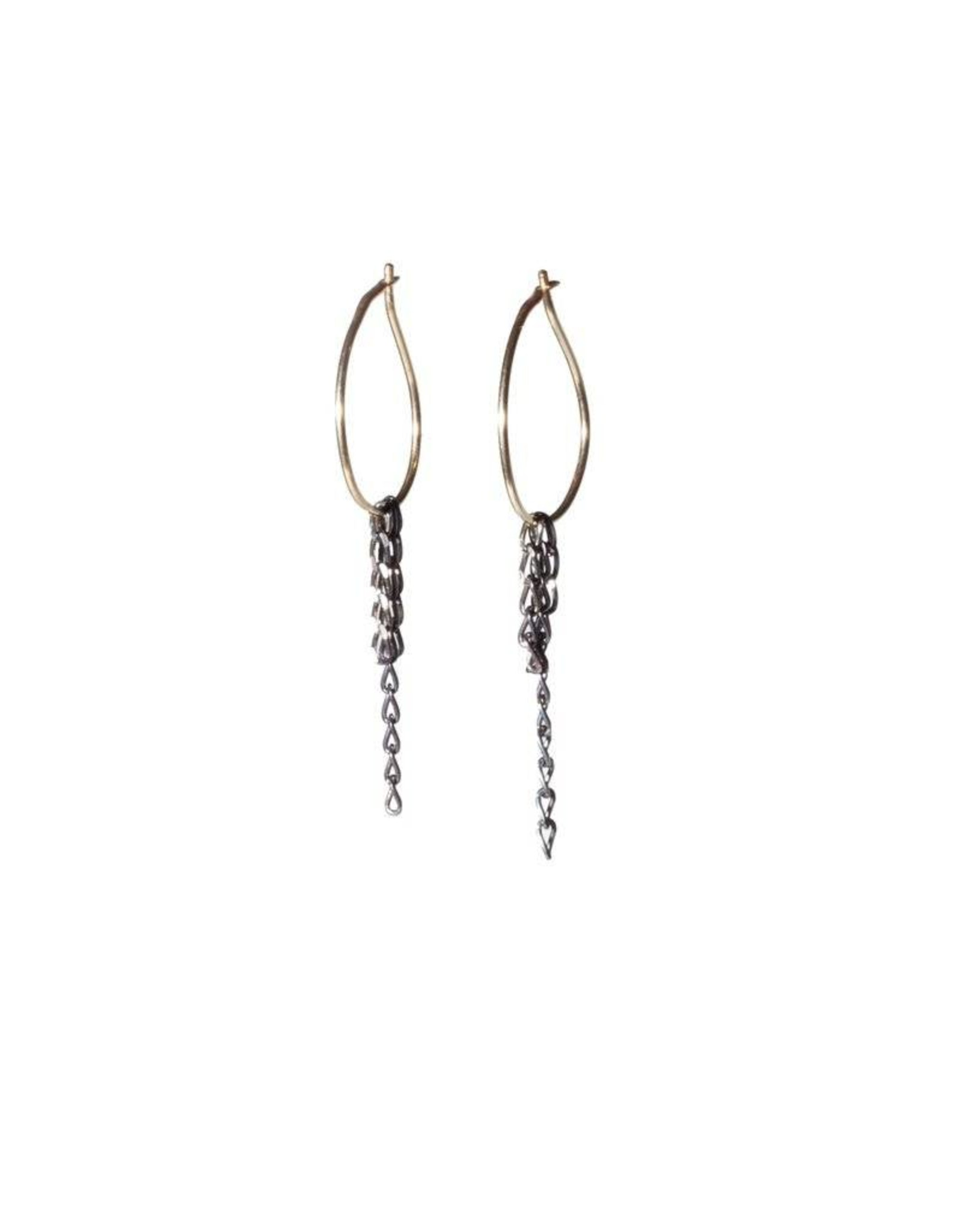 Chikahisa Studio Small Dangle Hoop Earrings