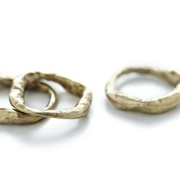 Chikahisa Studio Bronze Stone Stacking Ring