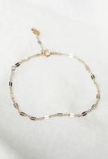 Hart + Stone Gold Helix Bracelet -