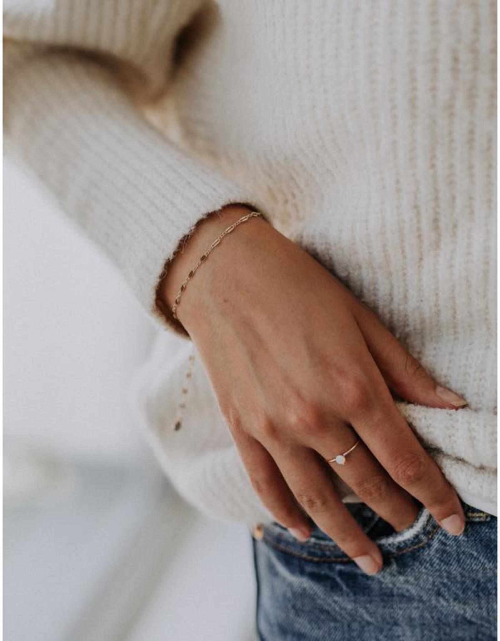Hart + Stone Silver Helix Bracelet -