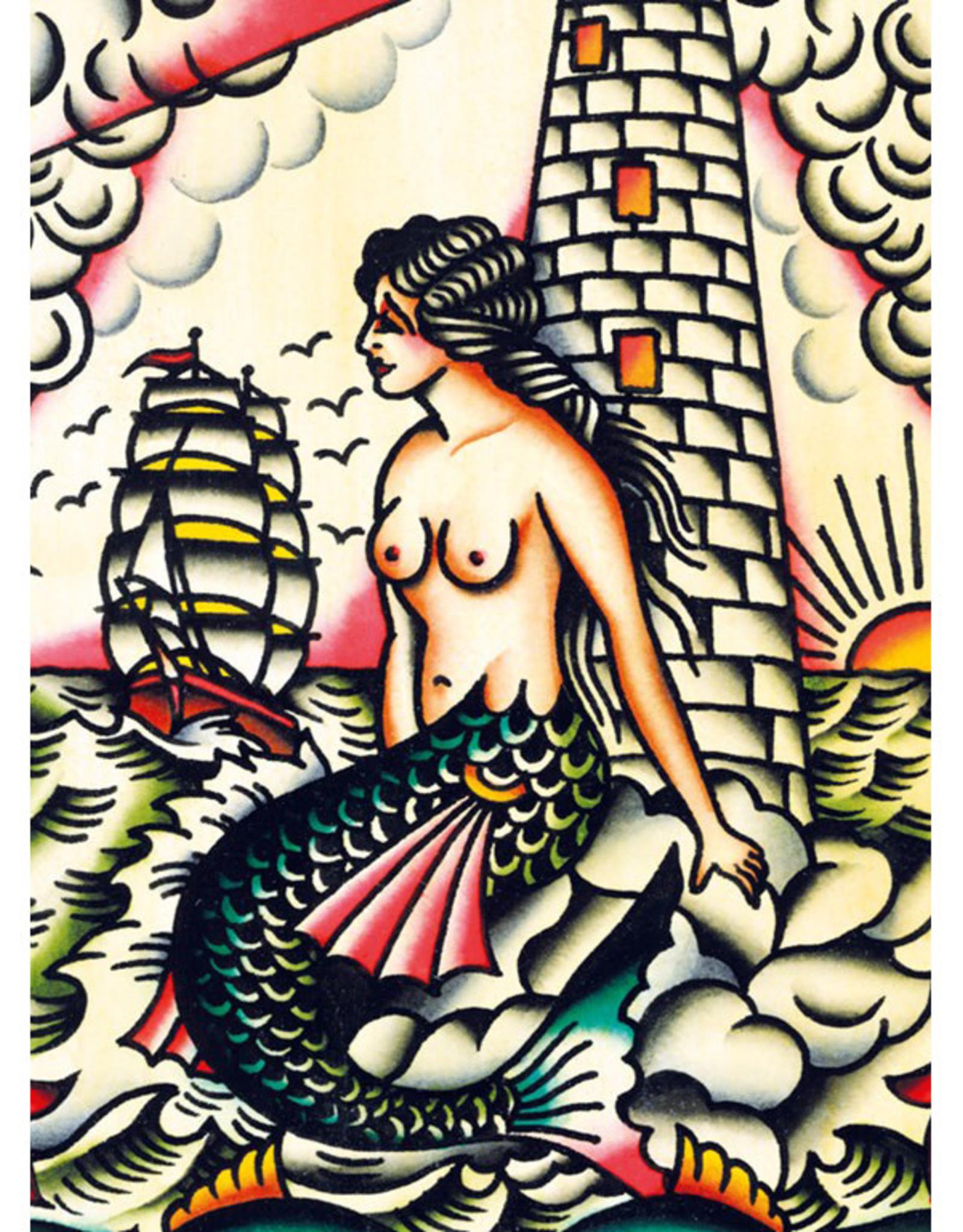 IXXI Colorful Mermaid - 60cm x 80cm