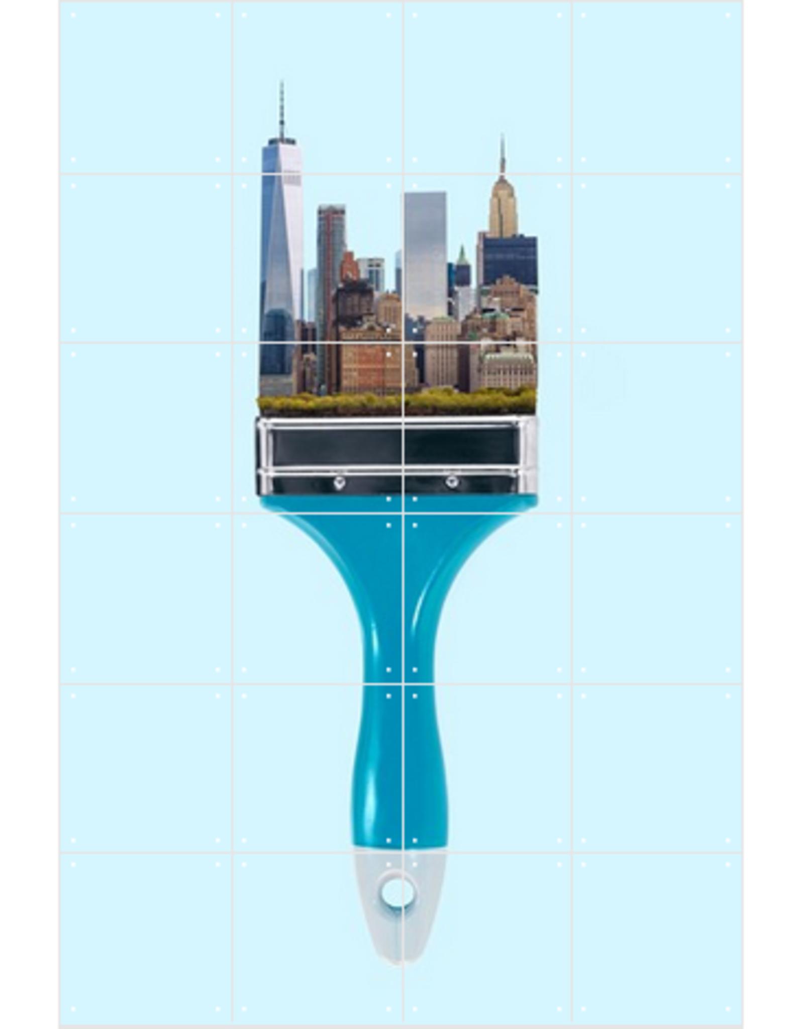 IXXI New York City Brush - 80cm x 120cm