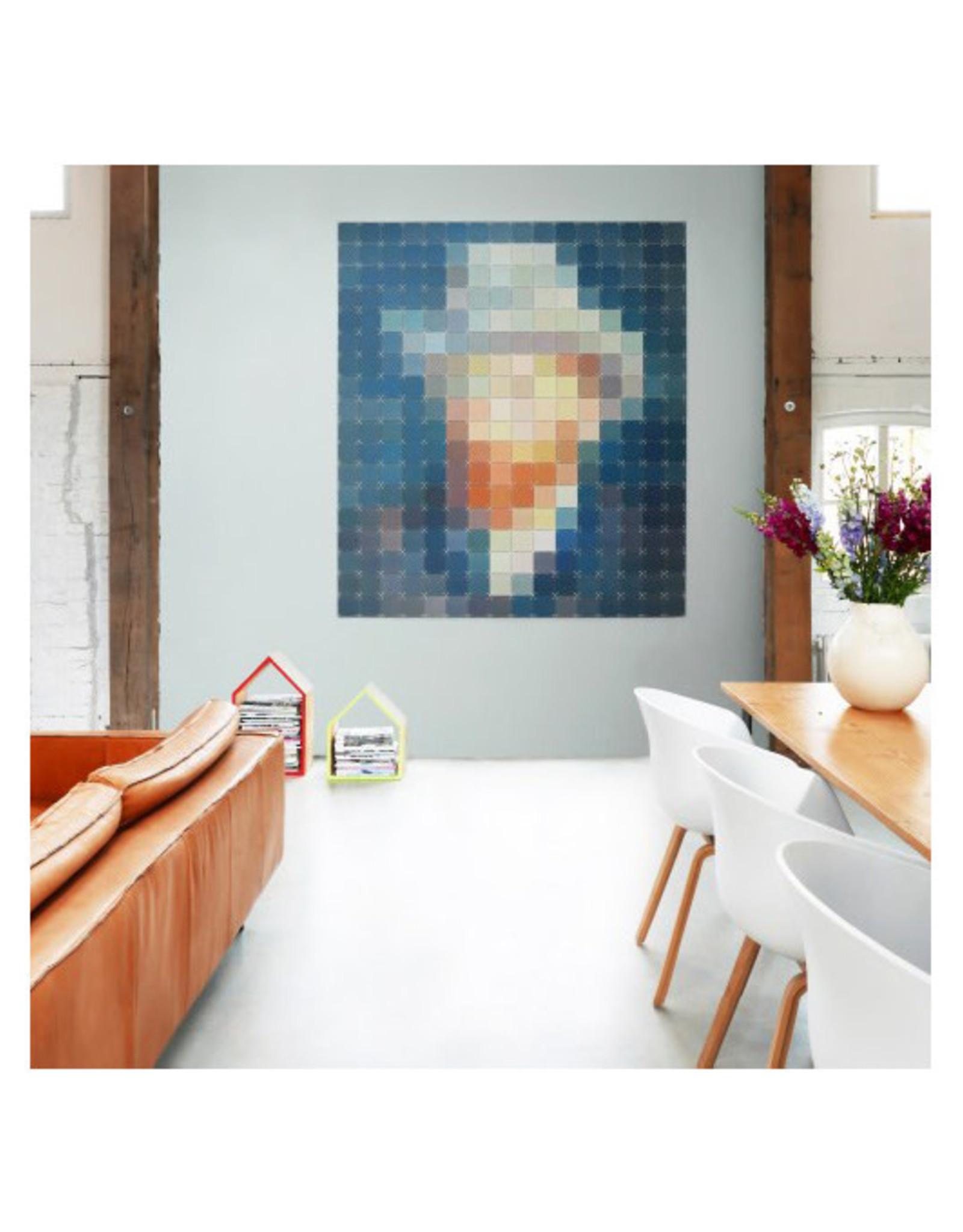 IXXI Pixelated Van Gogh Petrol - 160cm x 180cm