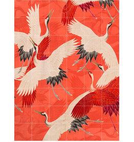 IXXI Kimono with Cranes (Double-Sided)