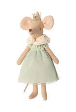 Maileg Queen Mouse Outfit - Mint Dress and Shawl