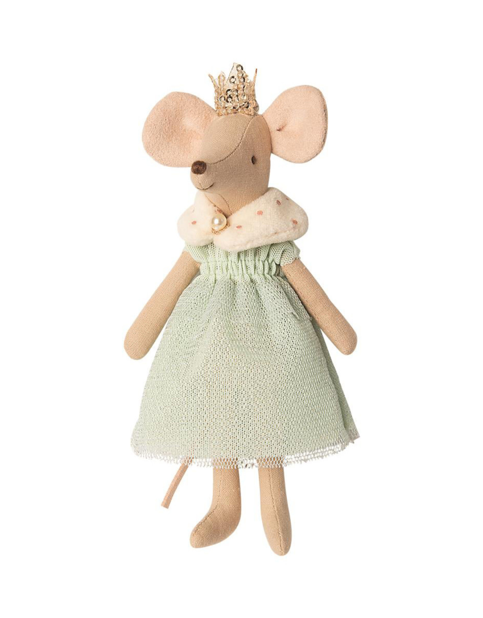 Maileg Queen Mouse - Mint Dress and Shawl