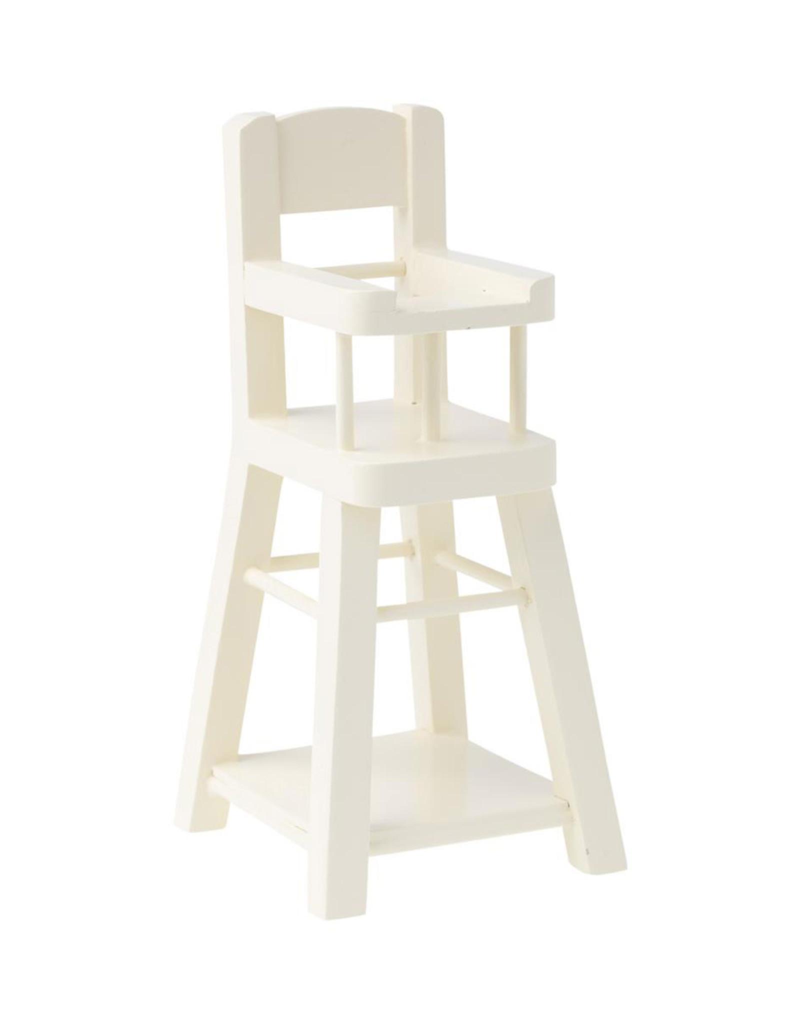 Maileg Micro High Chair - Off White