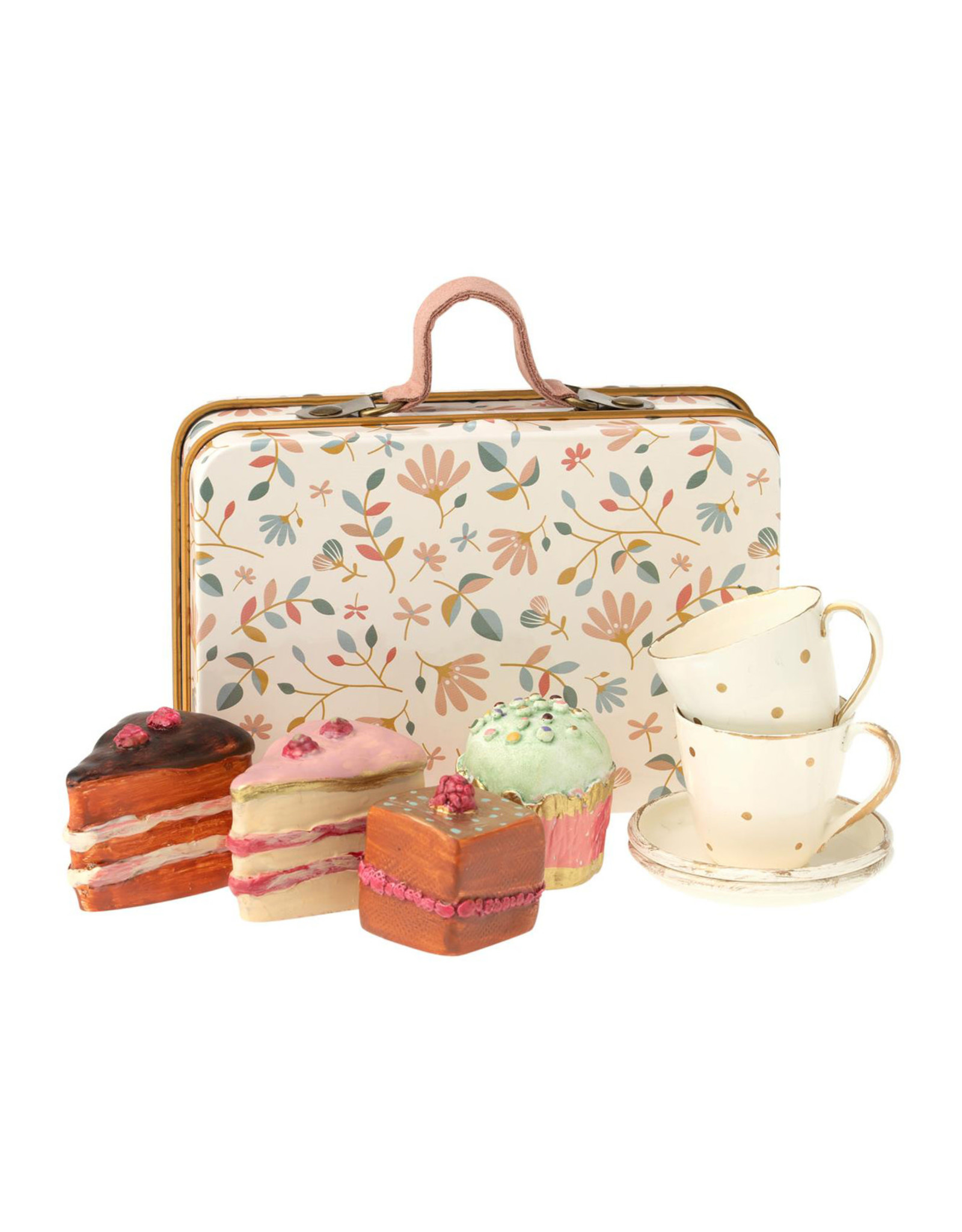 Maileg Cake Time in Suitcase