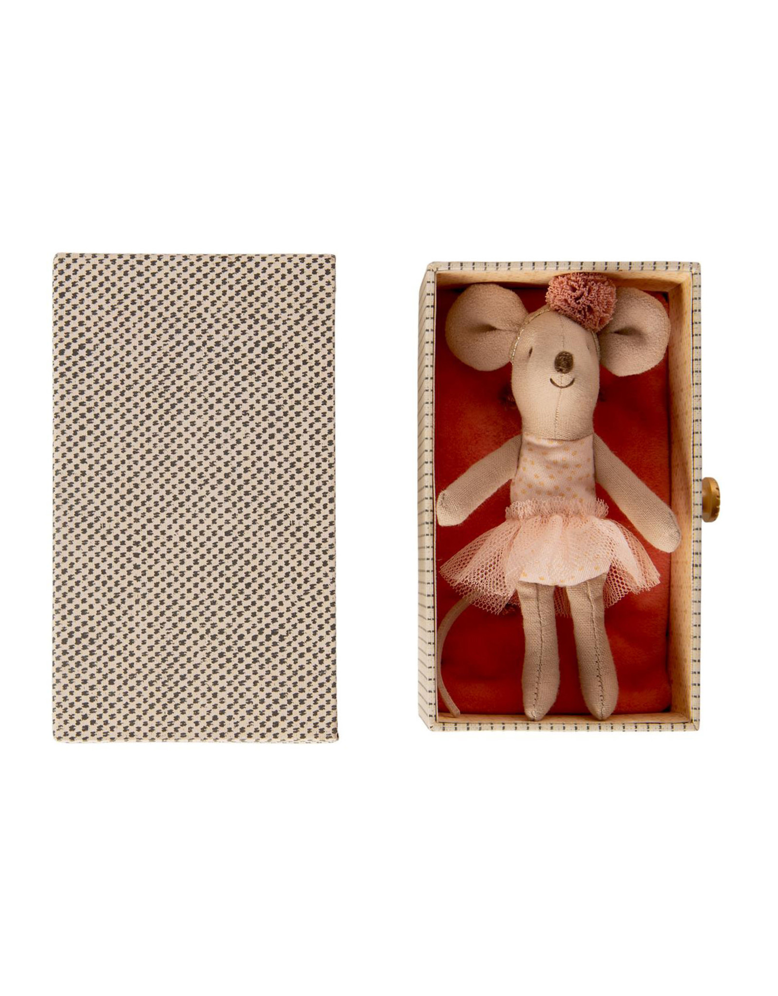Maileg Dance Little Sister Mouse + Daybed