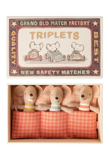 Maileg Baby Mouse Triplets
