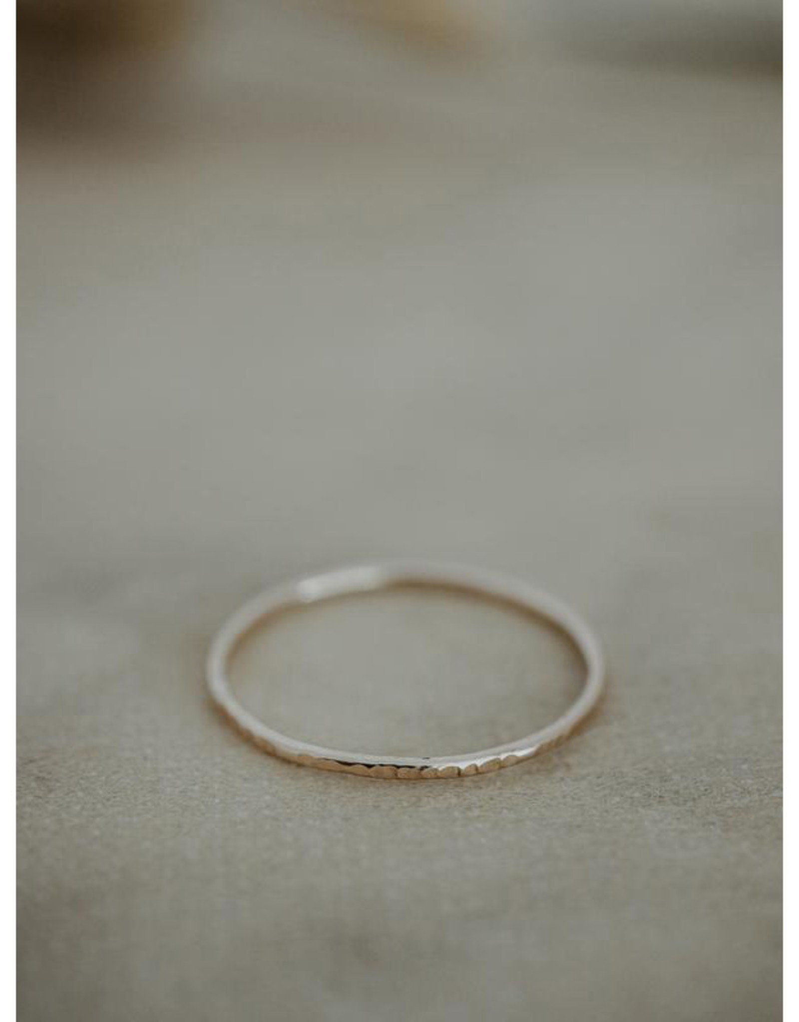 Hart + Stone Bamboo Stacking Ring - Gold Fill -