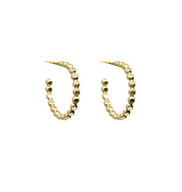 Hart + Stone Sprinkle Hoops - Gold