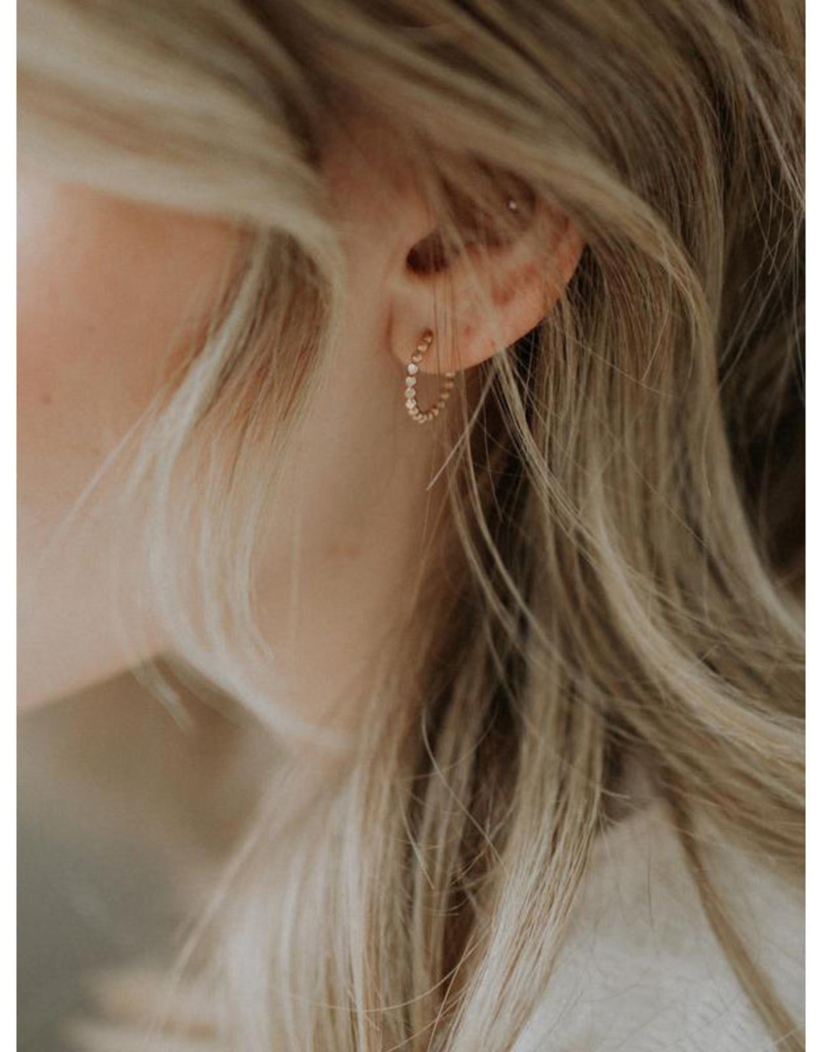 Hart + Stone Sprinkle Hoops - Gold