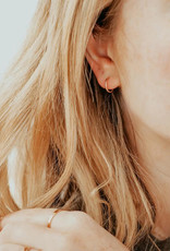 Hart + Stone Silver Ibex Hoops - Small