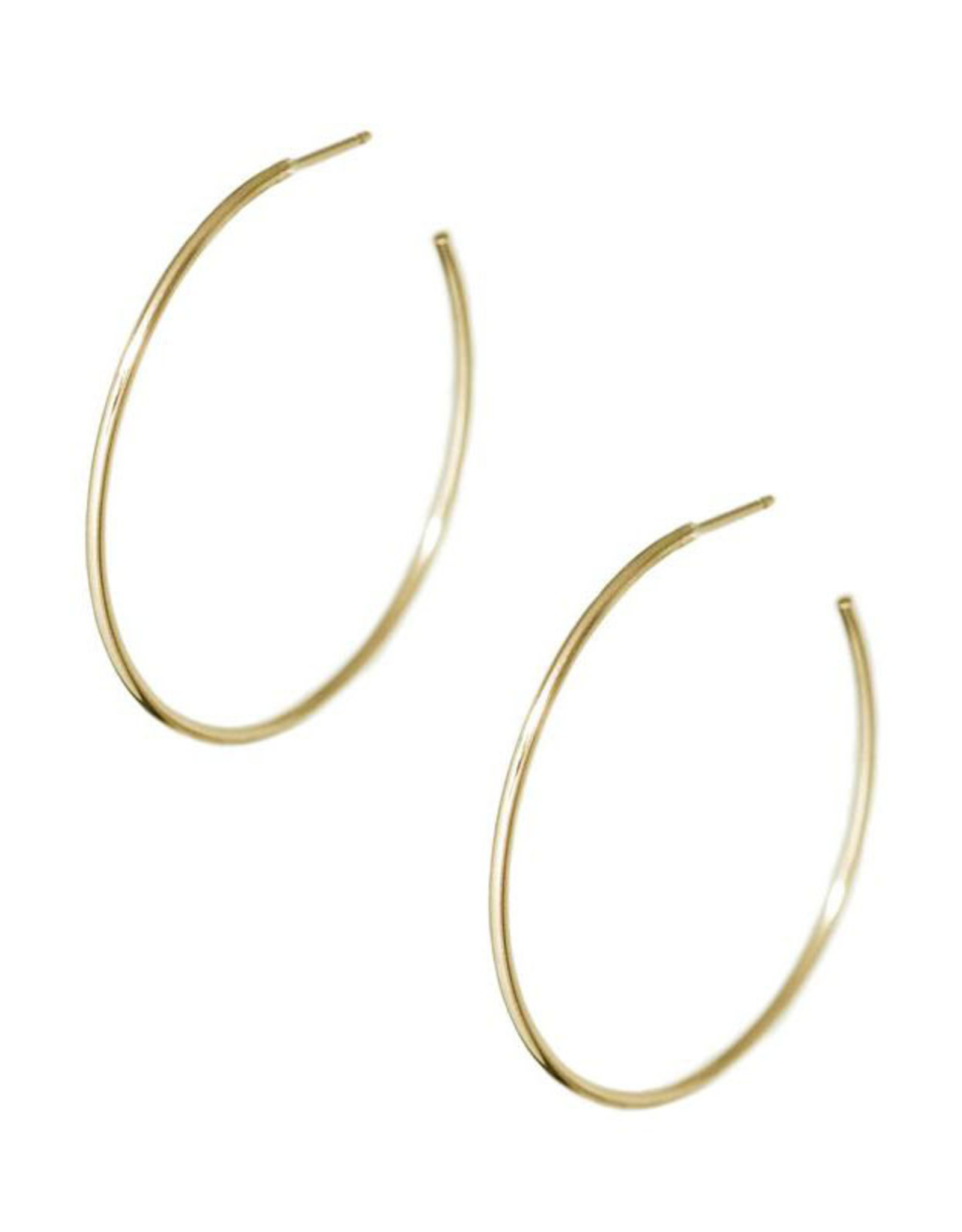 Hart + Stone Gold Ibex Hoops - Extra Large