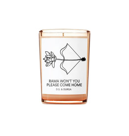 D.S. & DURGA Rama Won't You Please Come Home Candle