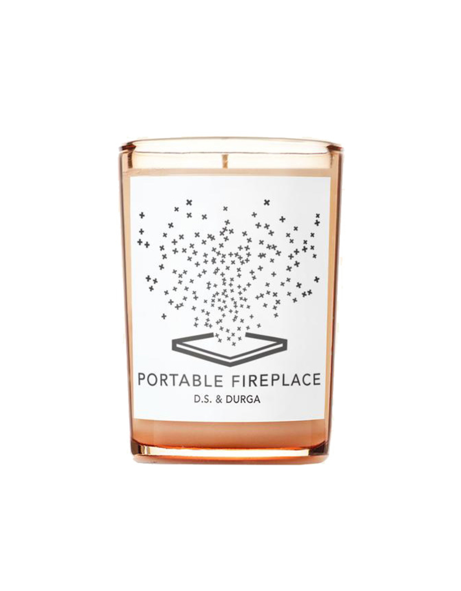 D.S. & DURGA Portable Fireplace - Candle - 7oz.