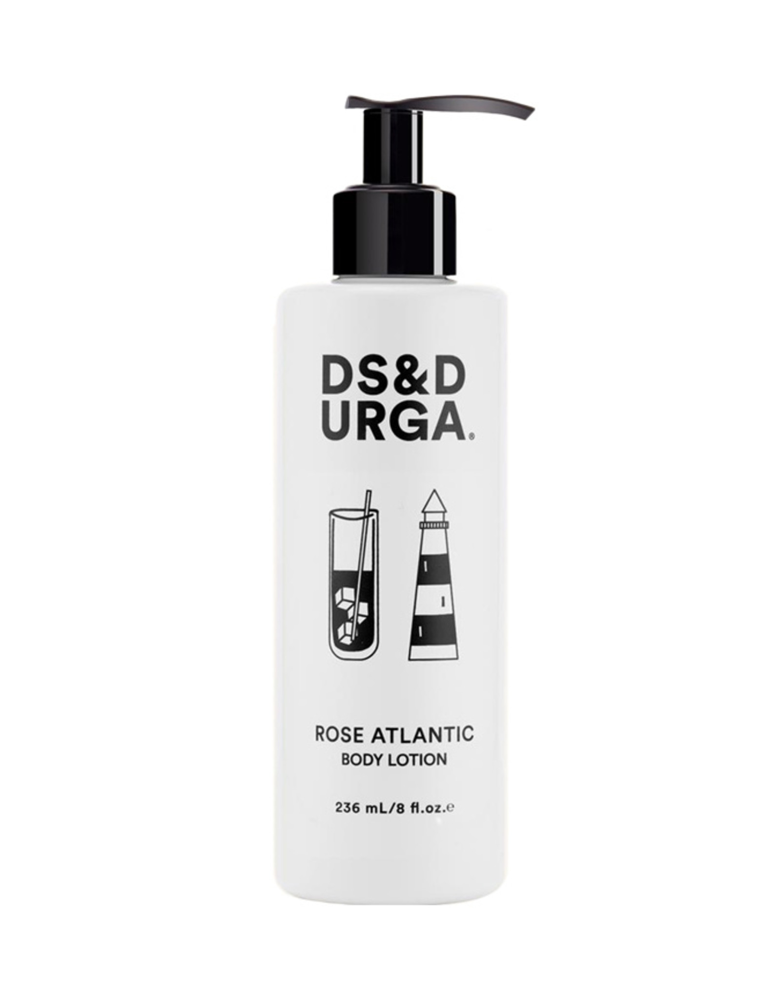 D.S. & DURGA Rose Atlantic - Body Lotion - 8oz. (236mL)