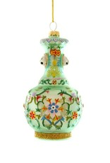 Cody Foster & Co. CHINOISERIE VASE ORNAMENT - GREEN