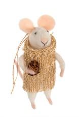 Indaba Boho Lily Mouse Ornament