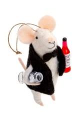 Indaba Sommelier Mouse Ornament