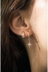 Celine Daoust Totem Diamond Hoop Studs
