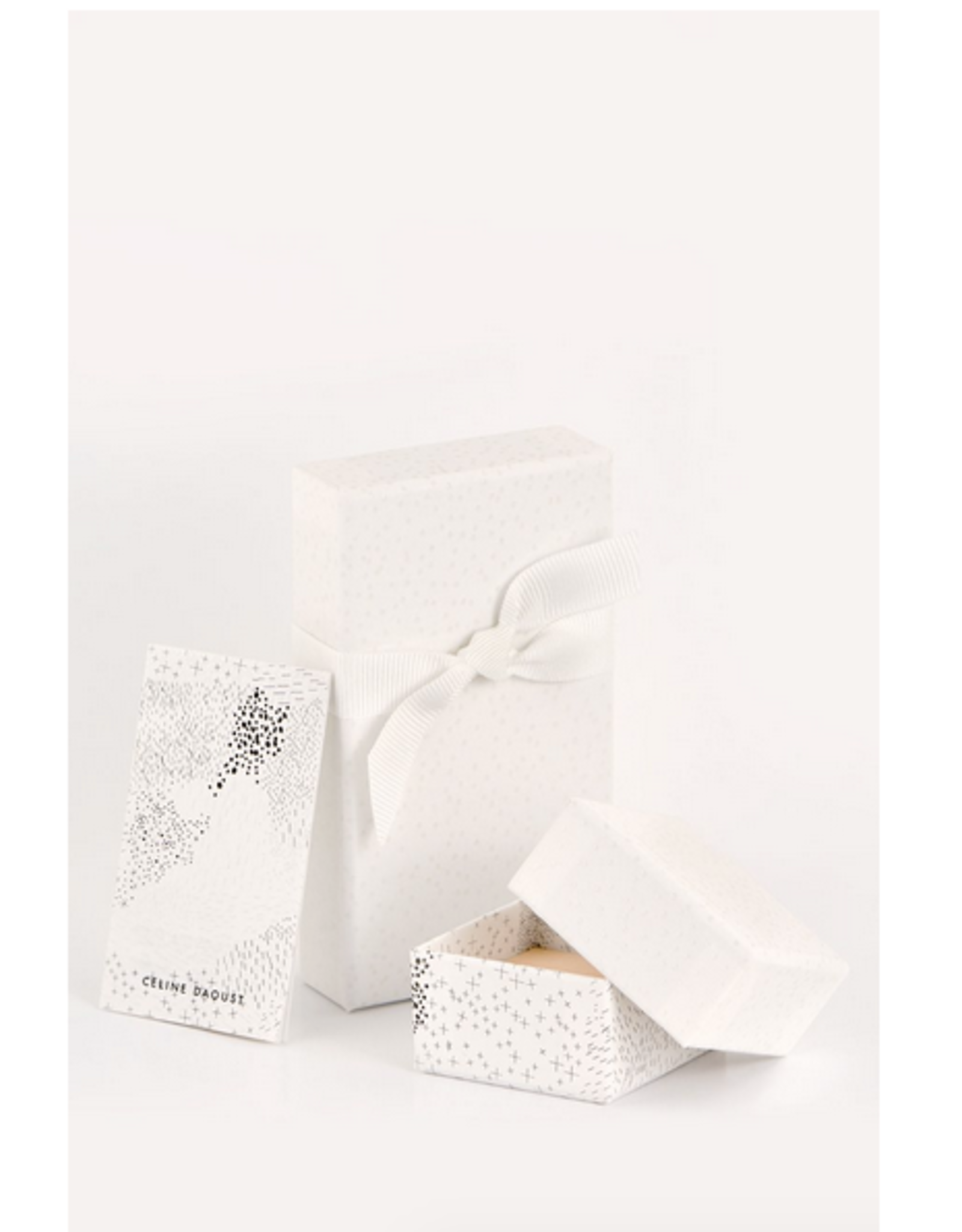 Celine Daoust Sun Beams Medallion Necklace - Marquise Pink Tourmaline + Diamonds