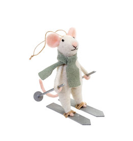Indaba Downhill Dennis Mouse Ornament
