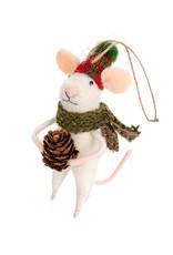 Indaba Forrester Frank Mouse Ornament