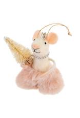 Indaba Elegant Emmeline Mouse Ornament