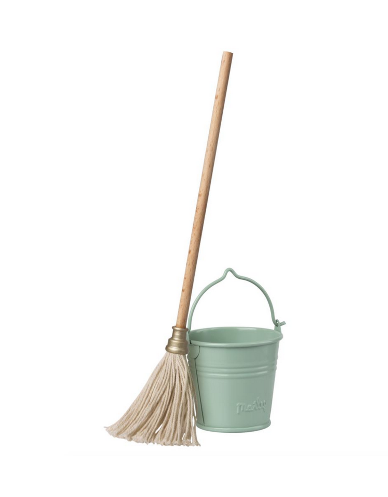 Maileg Miniature Bucket + Mop
