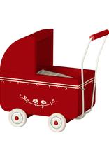 Maileg Micro Pram - Red