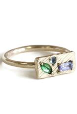 Lio & Linn Lavender Garden Small Collage Ring