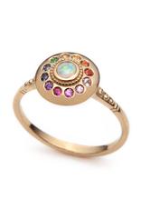 Sofia Zakia Royal Dynasty Solari UFO Ring