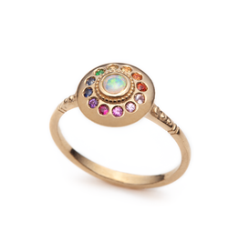 Sofia Zakia Royal Dynasty Solari UFO Ring