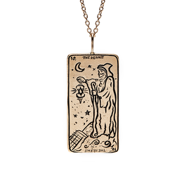 Sofia Zakia Hermit Tarot Necklace