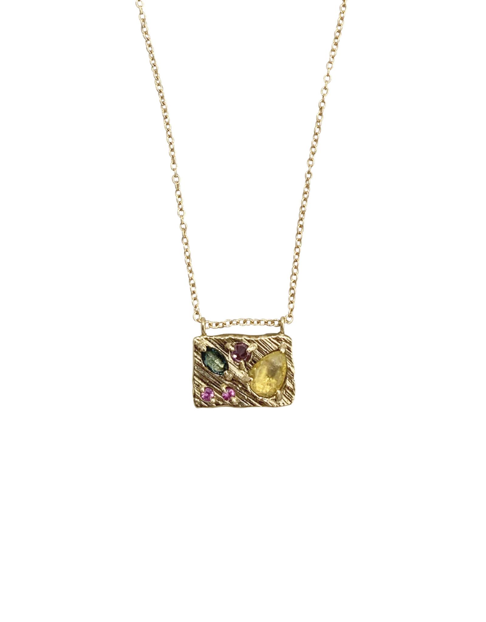 Lio & Linn Tropical Collage Necklace