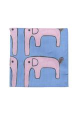 "H Tokyo Handkerchiefs ""AAC Elephant"" Handkerchief"