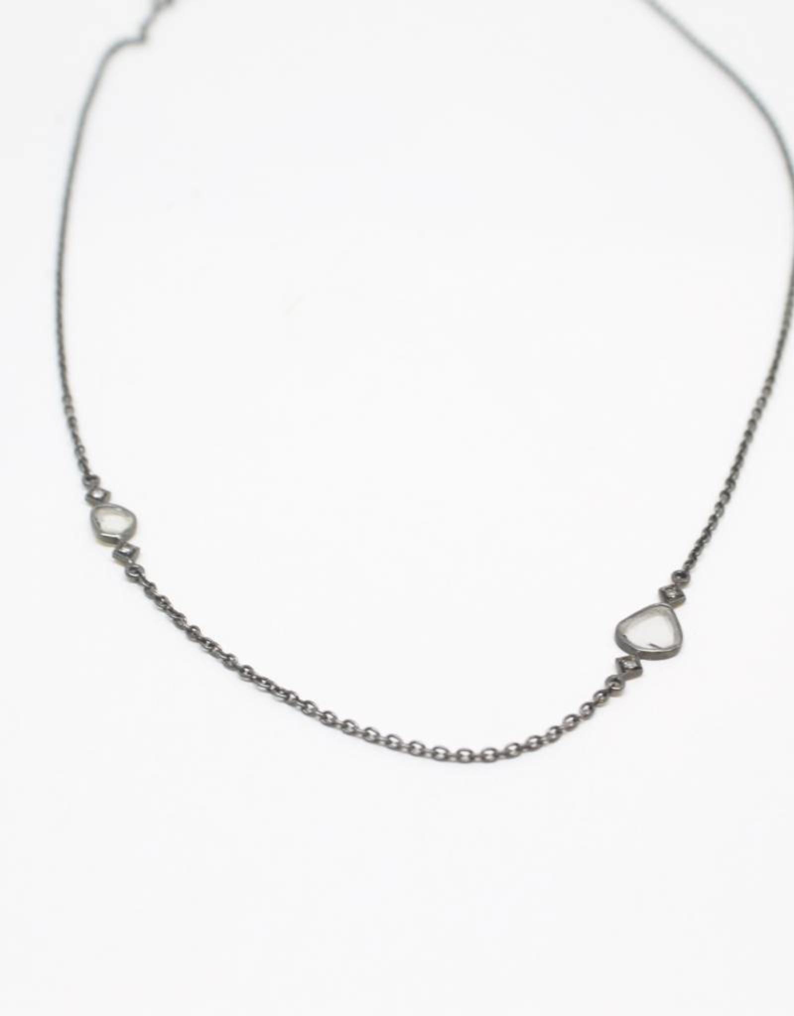 Himatsingka Lucie 2-Diamond Necklace