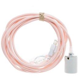 Color Cord Company Porcelain Light Cord - Quartz