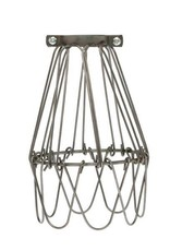 Color Cord Company Flex Light Bulb Cage - Raw