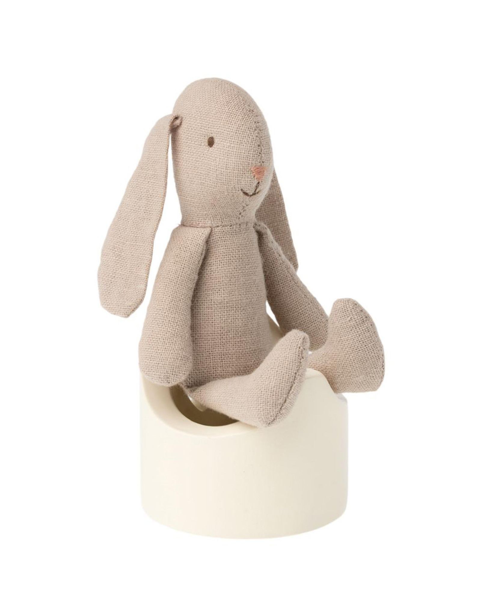 Maileg Mouse Potty - Off White