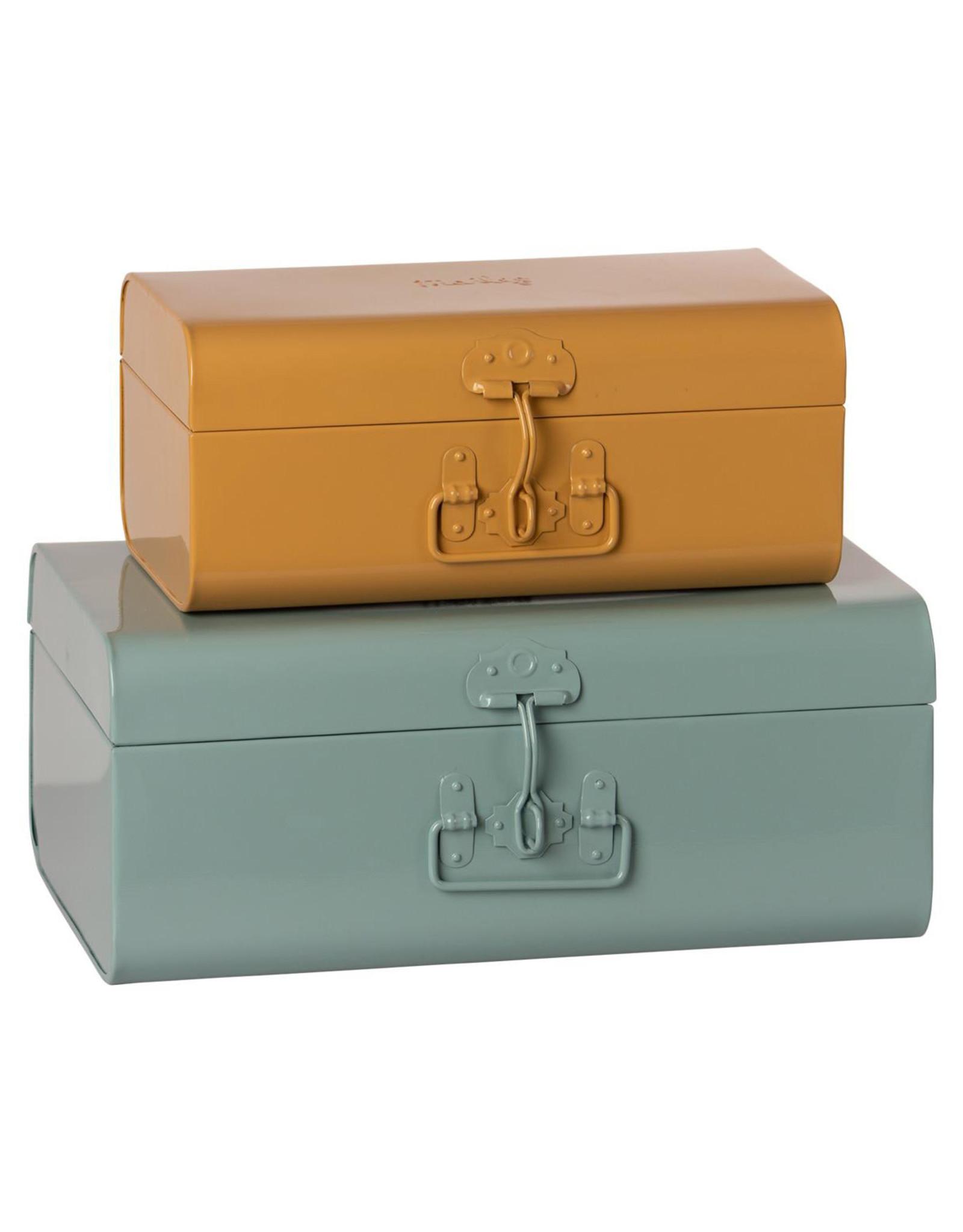 Maileg Large Storage Suitcase - Blue