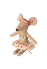 Maileg Mini Mouse Floaty - Red Polkadot