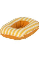 Maileg Mini Rubber Boat - Yellow Stripe