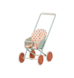 Maileg Micro Stroller - Sky Blue