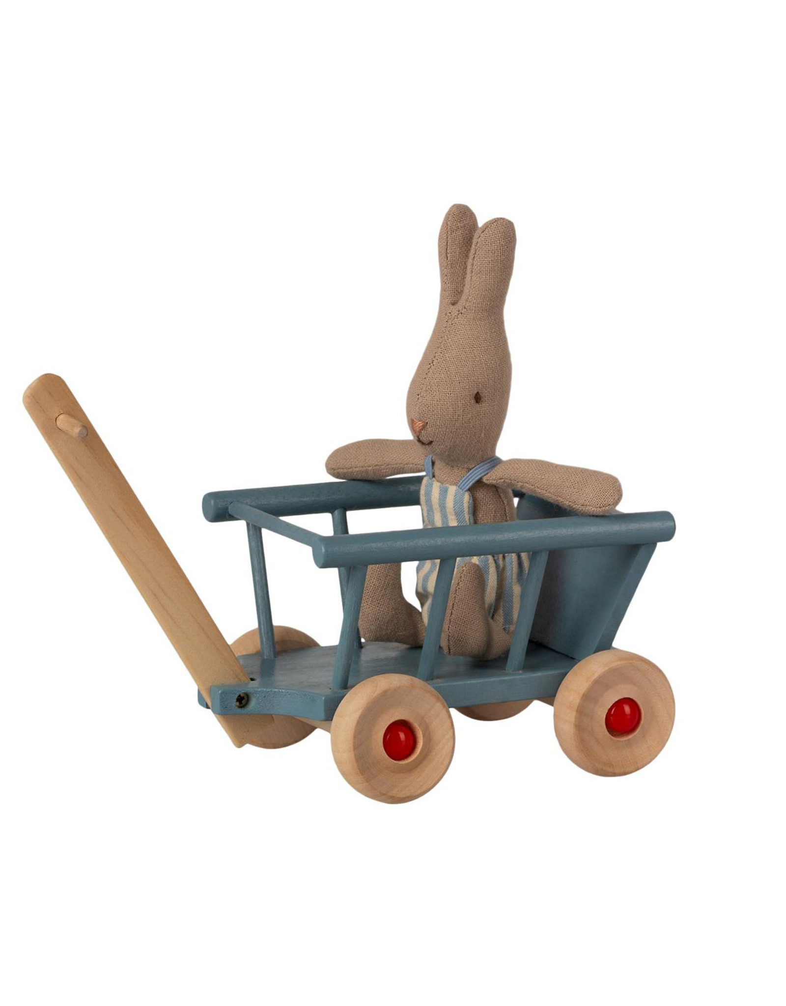 Maileg Mouse Wagon - Blue