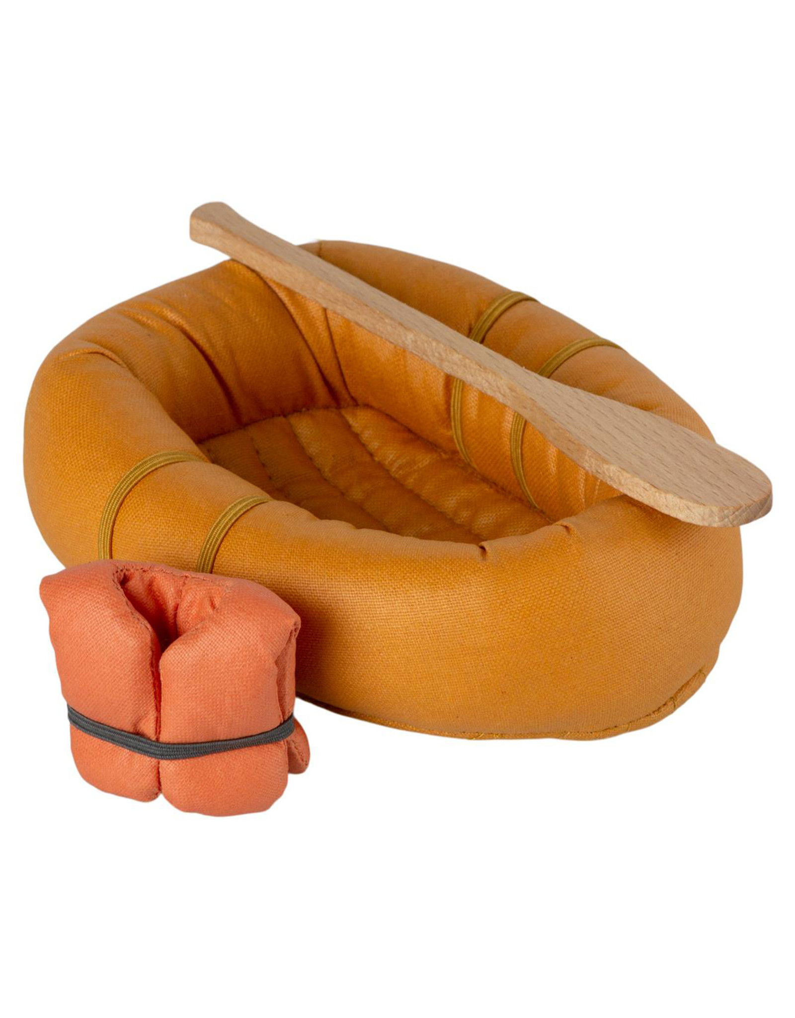 Maileg Mouse Rubber Boat - Dusty Yellow
